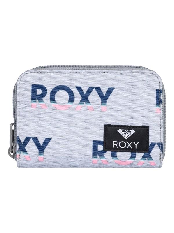 0 Dear Heart - Zip-Around Wallet Grey ERJAA03618 Roxy