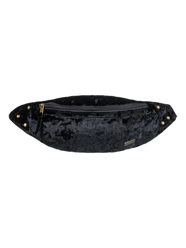 0 Julia Banana Velvet Fanny Pack Black ERJBA03038 Roxy