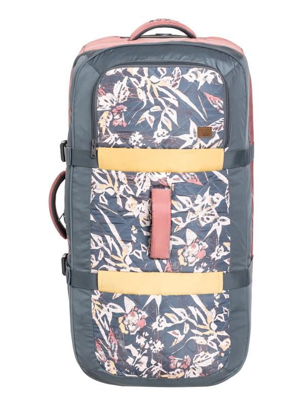 0 Большой чемодан на колесах Long Haul 105L  ERJBL03129 Roxy