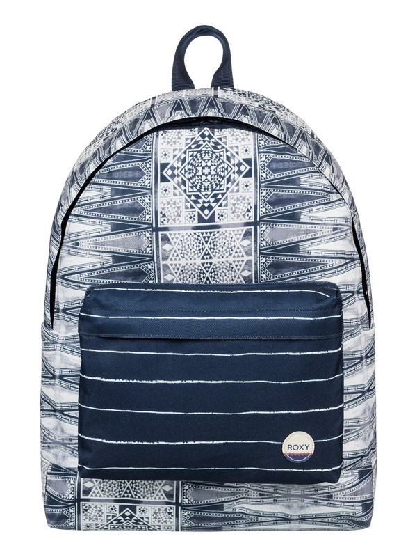 0 Be Young 24L - Medium Backpack Blue ERJBP03538 Roxy