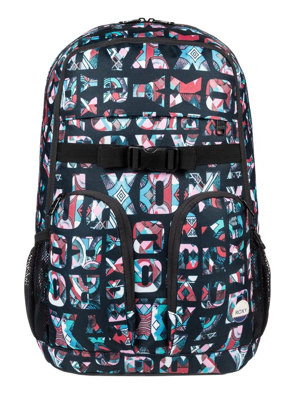 0 Take It Slow 22L - Medium Backpack Black ERJBP03545 Roxy