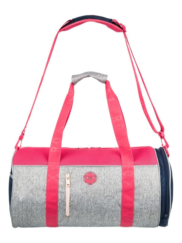 0 El Ribon - Large Sports Duffle Bag Gray ERJBP03653 Roxy