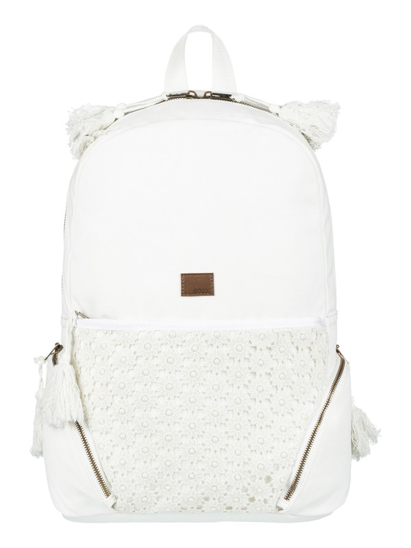 0 Bombora 19 L Medium Backpack White ERJBP03686 Roxy