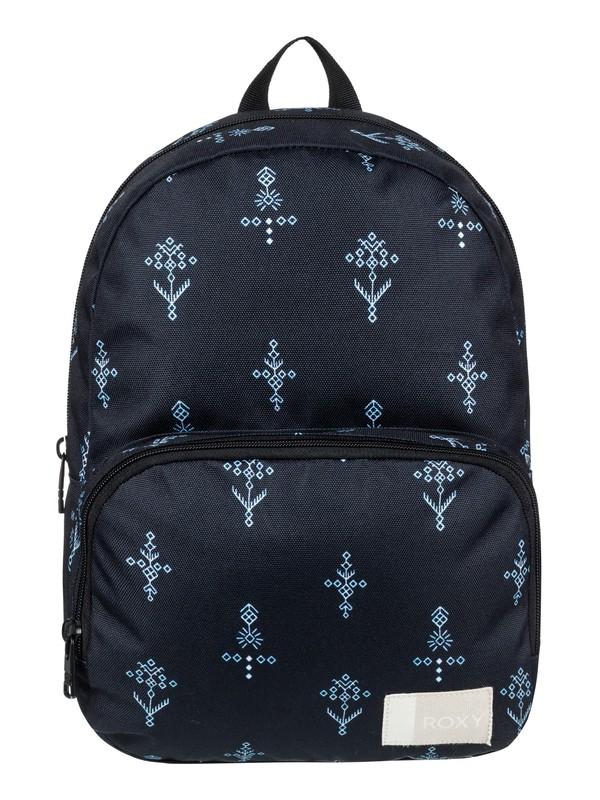 0 Always Core 8 L Small Backpack Black ERJBP03695 Roxy