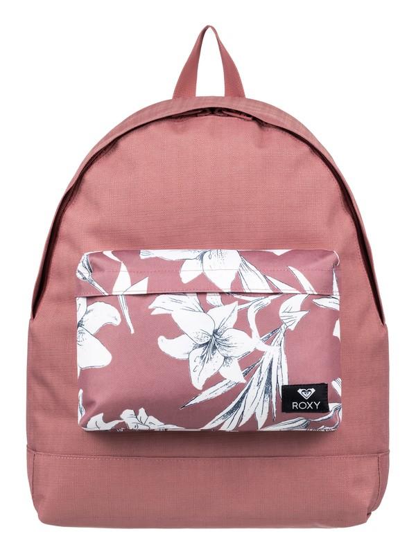 0 Be Young Mix 24L - Medium Backpack Pink ERJBP03733 Roxy