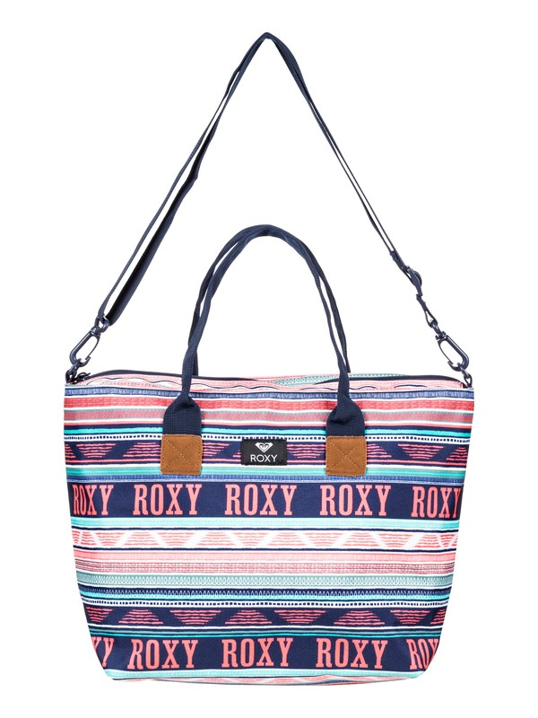 0 Good Things - Bolsa de playa con asas de tamaño mediano Blanco ERJBP03750 Roxy