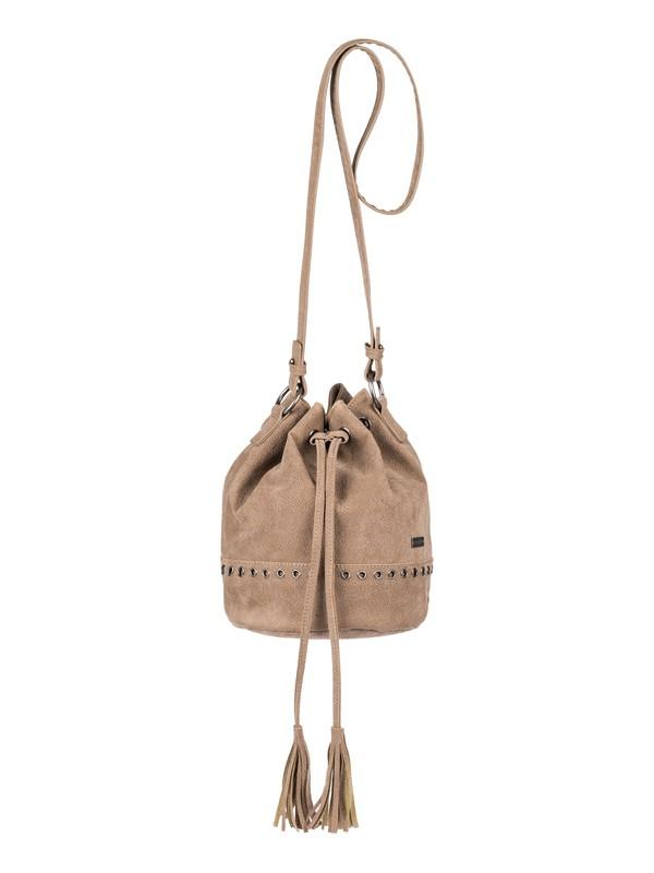 0 Hear Me Now Small Bucket Bag Beige ERJBP03756 Roxy