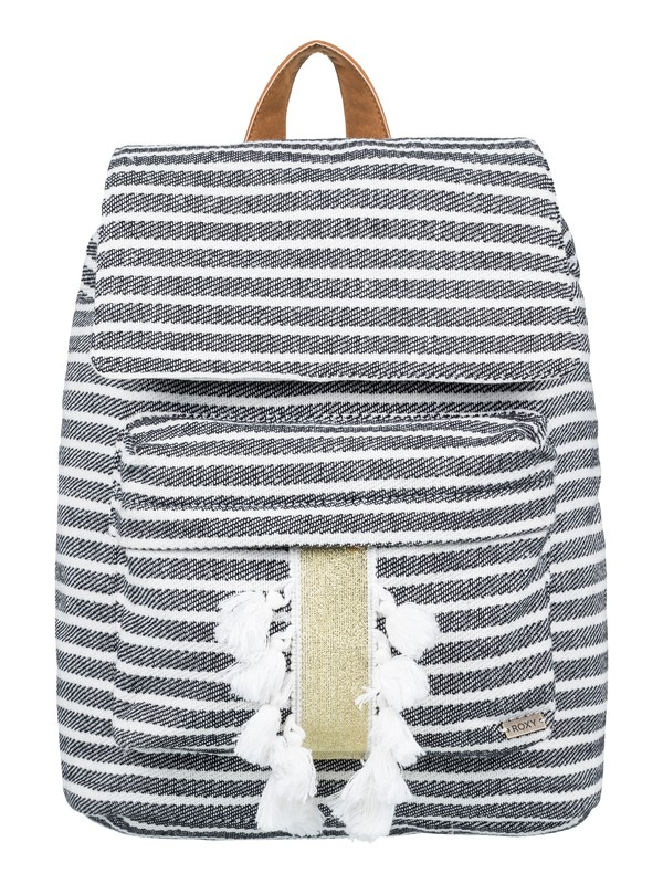 0 Love Them Hard 17L Medium Backpack Black ERJBP03763 Roxy