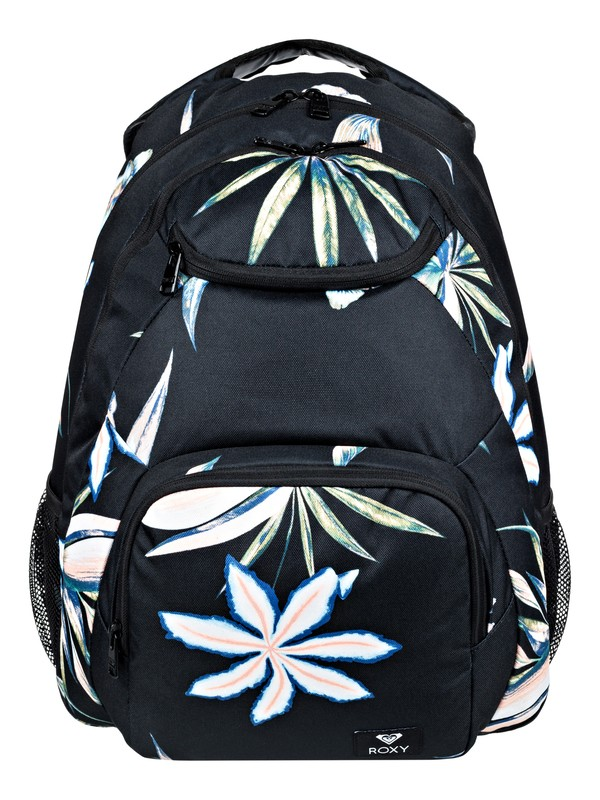 0 Shadow Swell 24L Medium Backpack Black ERJBP03784 Roxy