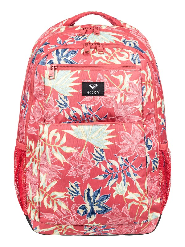 0 Here You Are 23.5L Medium Backpack Red ERJBP03790 Roxy
