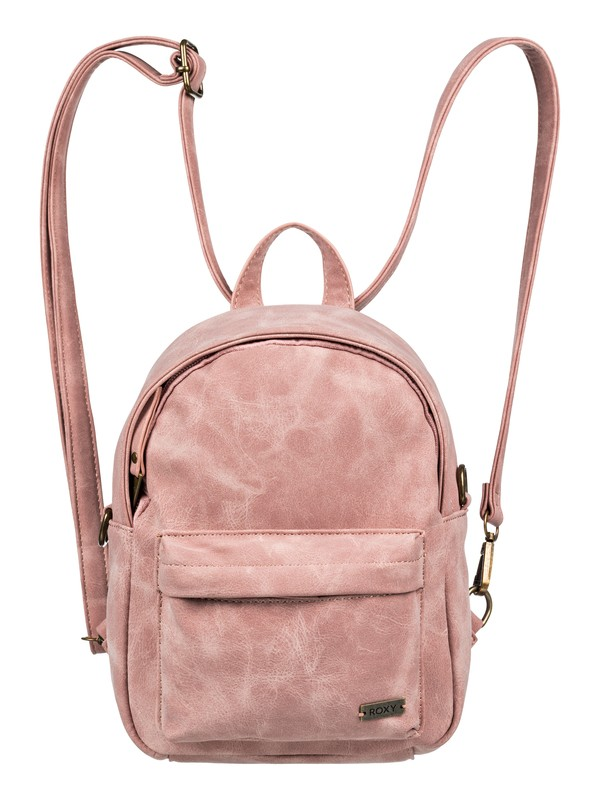 0 Walking Away Convertible Mini Backpack Pink ERJBP03795 Roxy