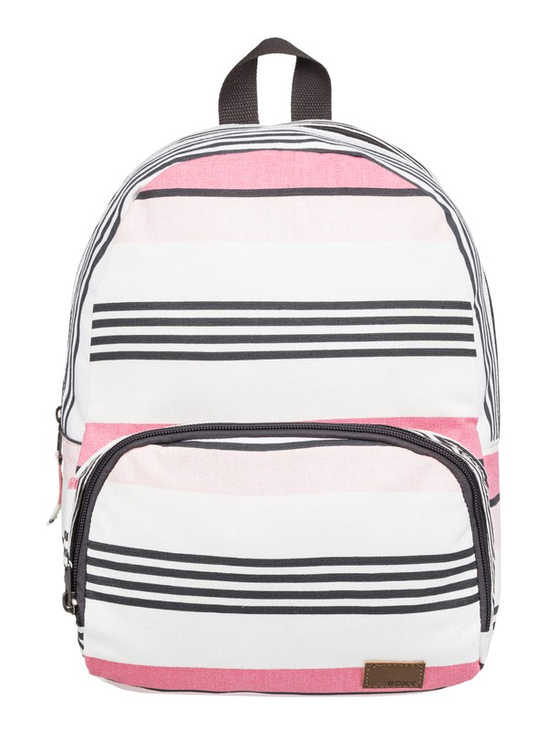 0 Always Core Canvas 8L Extra-Small Backpack White ERJBP03830 Roxy