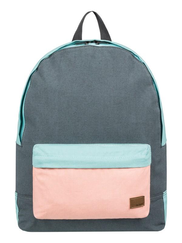 0 Sugar Baby Canvas 16L Small Backpack Black ERJBP03831 Roxy
