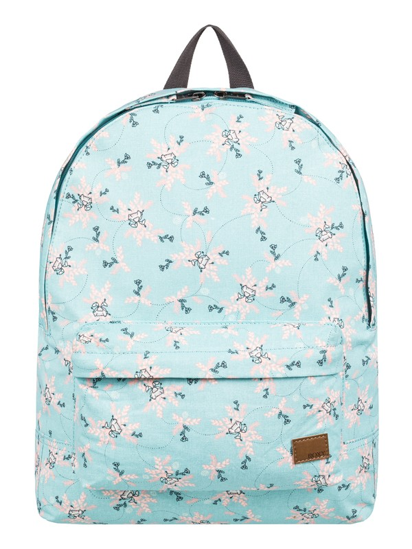 0 Sugar Baby Canvas 16L Small Backpack Blue ERJBP03832 Roxy