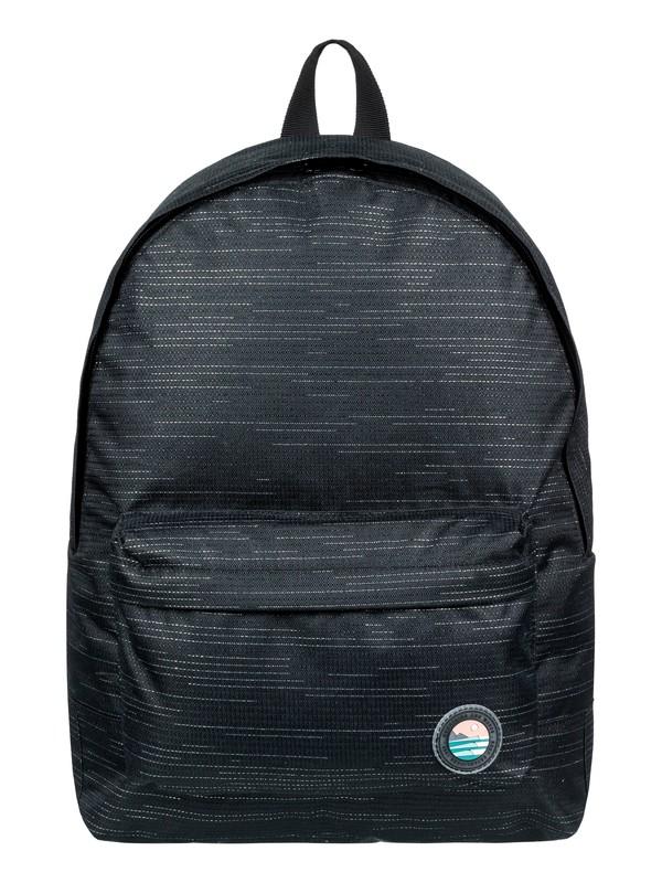 0 Sugar Baby Solid 16L - Small Backpack Black ERJBP03838 Roxy