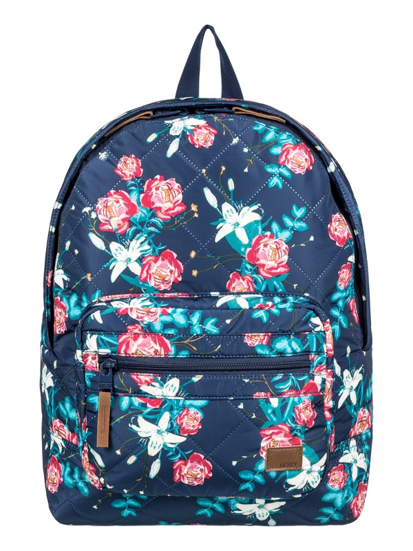 0 Morning Light 16L Small Backpack Blue ERJBP03842 Roxy