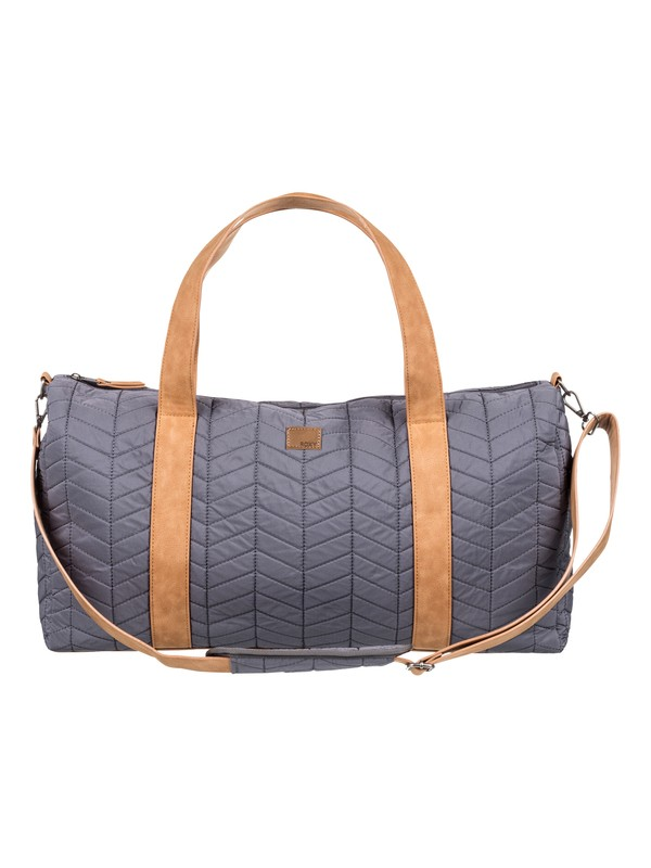 0 Richly Colored Large Quilted Weekend Bag Black ERJBP03866 Roxy