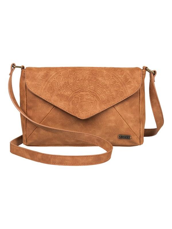 0 Sunset Road Small Faux Leather Purse Orange ERJBP03869 Roxy