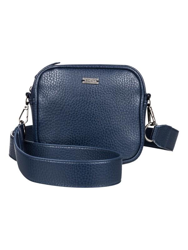 0 Grateful Heart - Small Faux Leather Handbag Blue ERJBP03870 Roxy