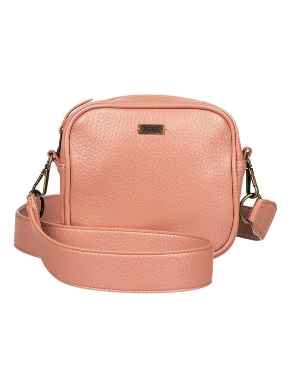 0 Grateful Heart - Small Faux Leather Handbag Pink ERJBP03870 Roxy