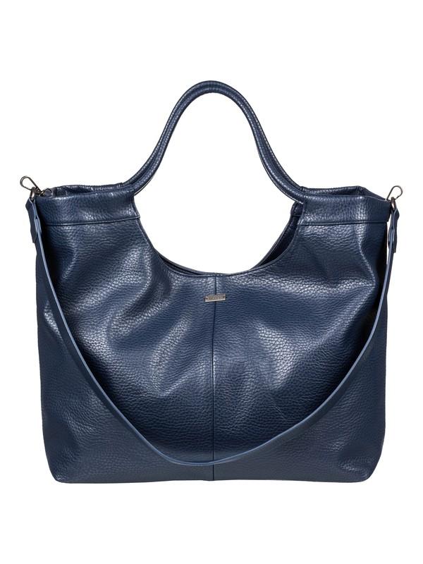 0 Sunset Session - Large Faux Leather Handbag Blue ERJBP03874 Roxy