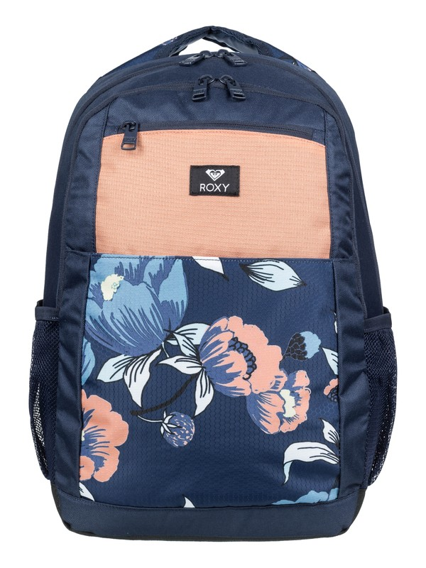 0 Here You Are Fitness 23.5L - Medium Backpack Blue ERJBP03887 Roxy