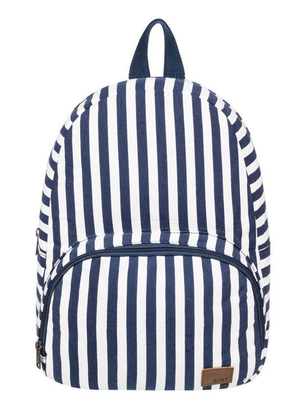 0 Always Core Canvas 8L Small Backpack Blue ERJBP03915 Roxy