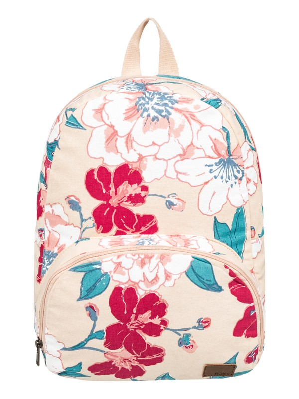 0 Always Core Canvas 8L Small Backpack Beige ERJBP03915 Roxy