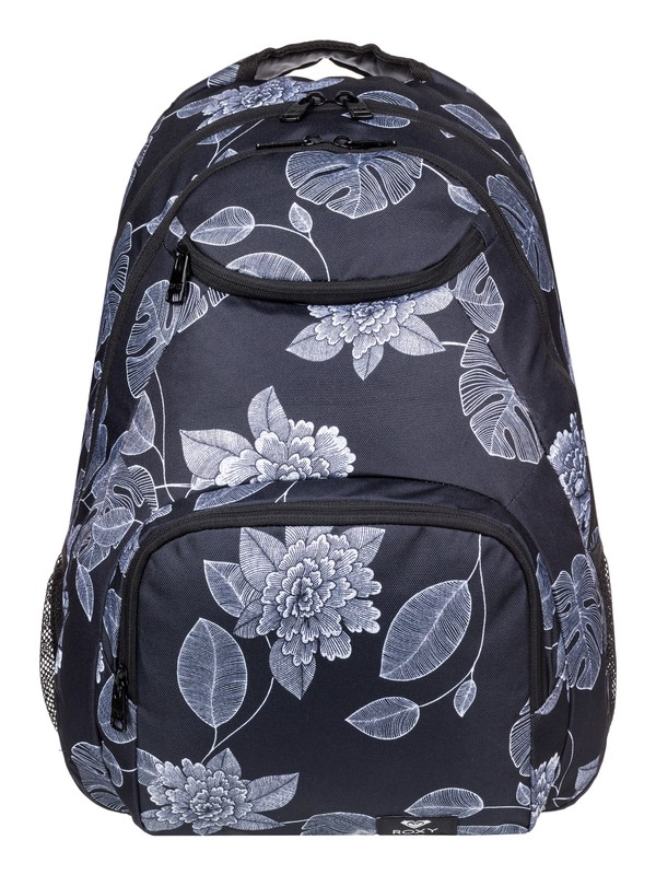 0 Shadow Swell 24L Medium Backpack Black ERJBP03921 Roxy