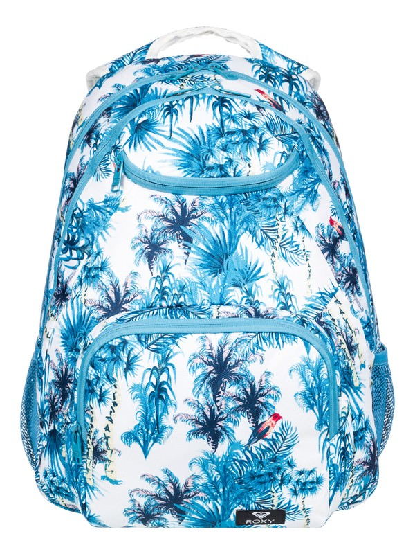 0 Shadow Swell 24L Medium Backpack White ERJBP03921 Roxy