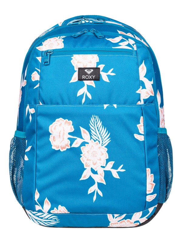 0 Here You Are 23L Medium Backpack Blue ERJBP03924 Roxy