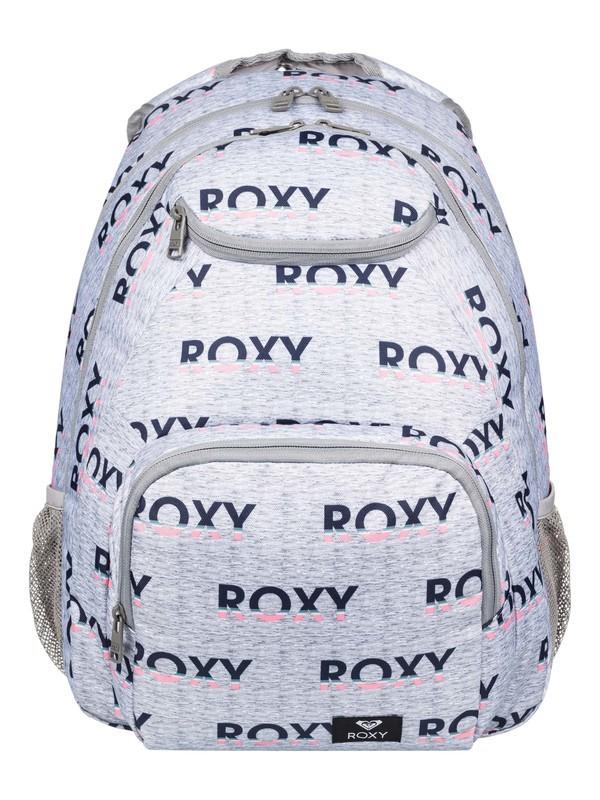 0 Shadow Swell 24L Medium Backpack Grey ERJBP03953 Roxy
