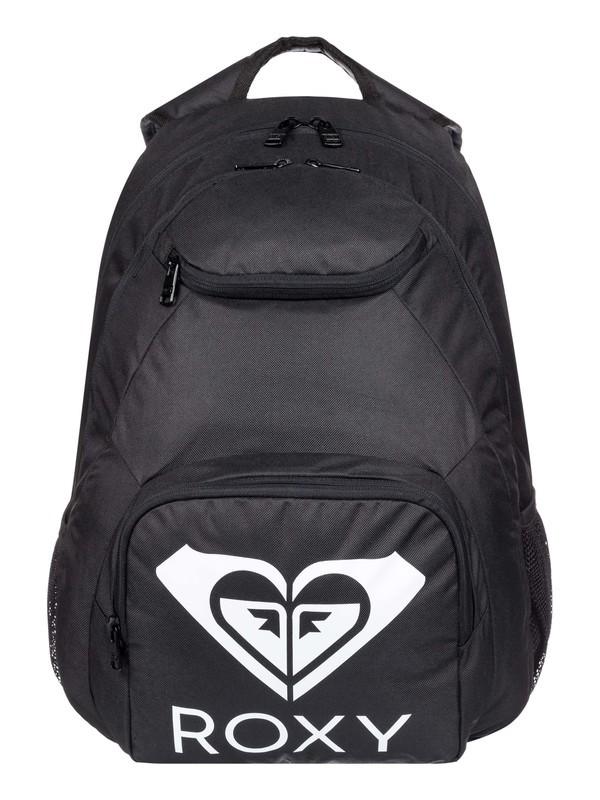 0 Shadow Swell 24L Medium Backpack Black ERJBP03954 Roxy