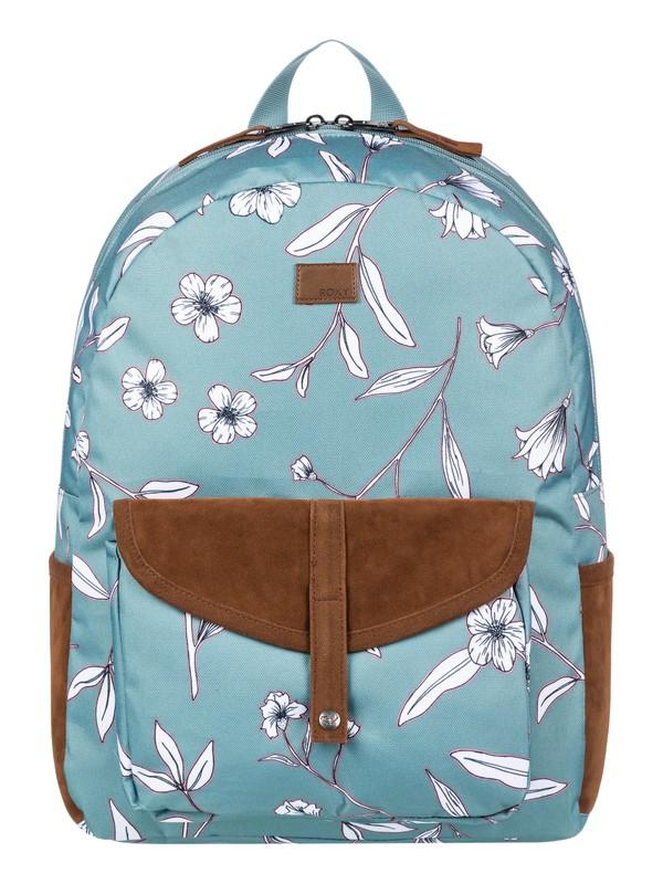 0 Carribean Medium Backpack Blue ERJBP03968 Roxy