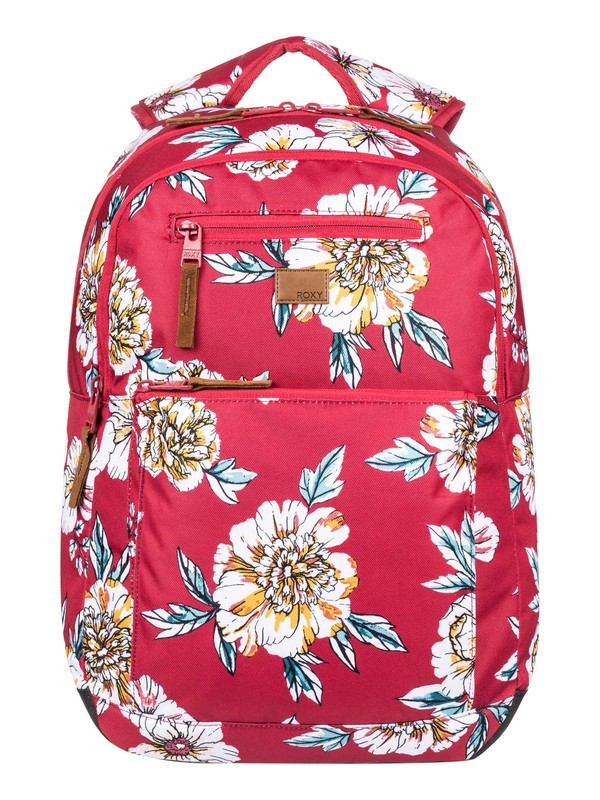 0 Here You Are 23.5L Medium Backpack Red ERJBP03991 Roxy
