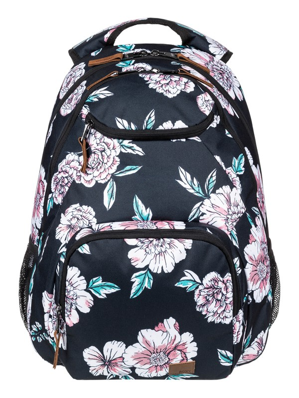 0 Shadow Swell 24L Medium Backpack Black ERJBP03994 Roxy