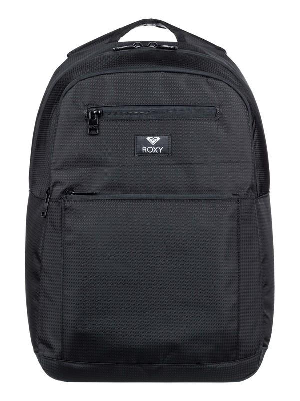 0 Here You Are 23.5L Medium Backpack Black ERJBP04031 Roxy