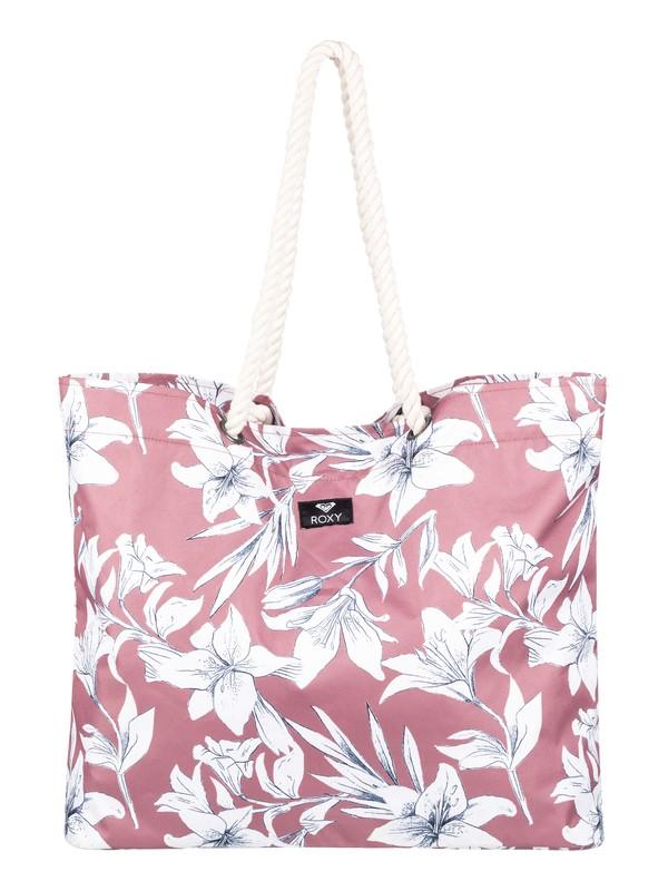 0 Tropical Vibe Beach Bag Pink ERJBT03100 Roxy