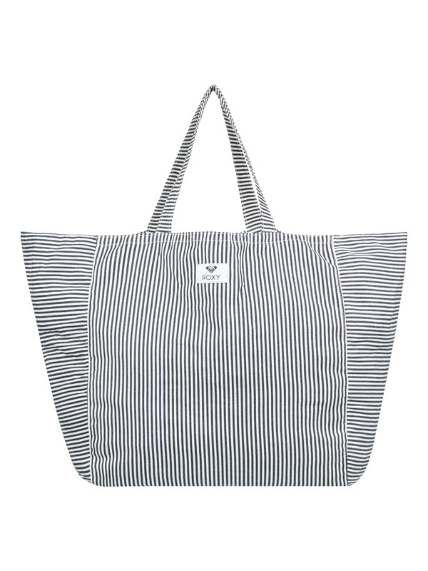 0 Time Is Now Tote Bag Blue ERJBT03109 Roxy