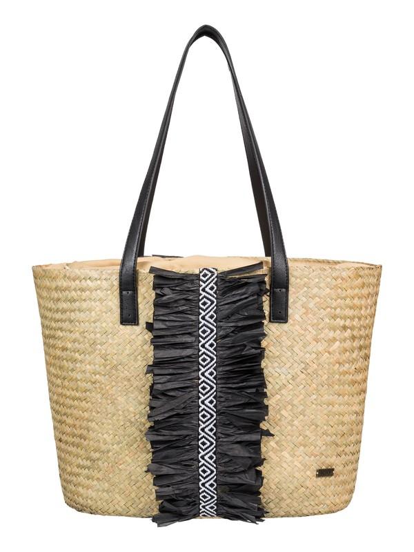 0 Pretty Love 15L Straw Bucket Bag Yellow ERJBT03122 Roxy