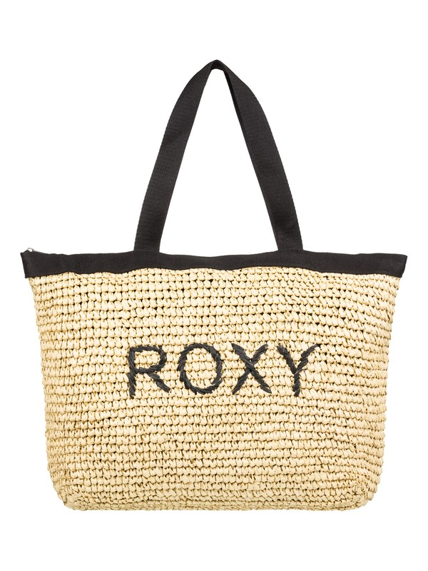 0 Bolsa de popotillo con asas Heard that Sound Negro ERJBT03126 Roxy