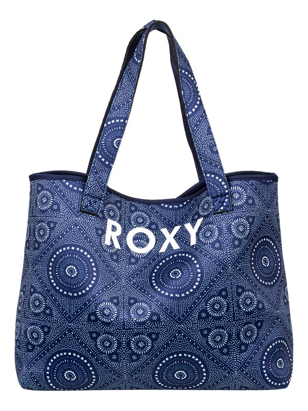 0 All Things - Borsa Tote Double face Blue ERJBT03130 Roxy