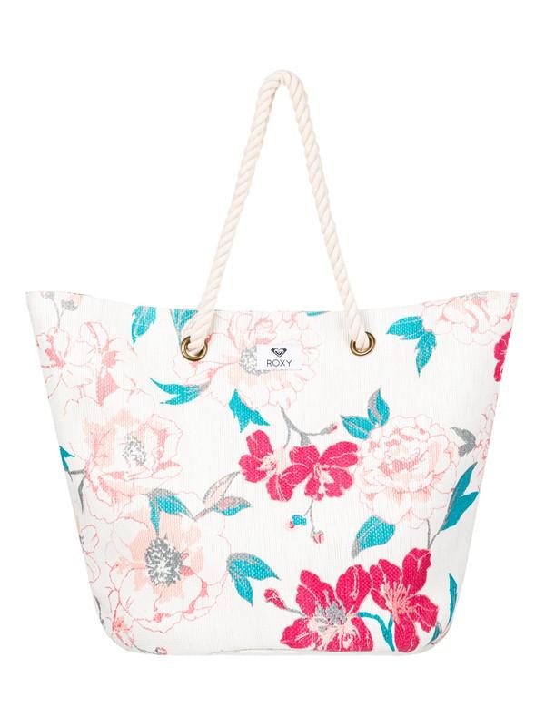 0 Sunseeker 30L Straw Beach Bag Beige ERJBT03137 Roxy