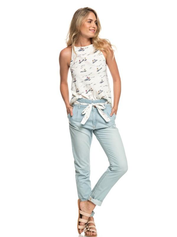 0 Bahia Sucia - Pantalon de plage en denim pour Femme Bleu ERJDP03187 Roxy