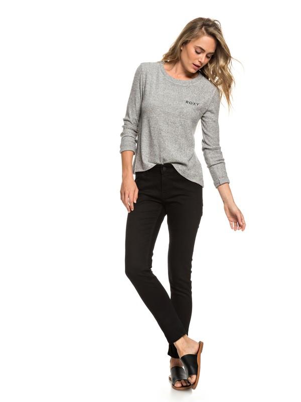 0 Bandit Pant - Jeans con Vestibilità skinny da Donna Black ERJDP03209 Roxy