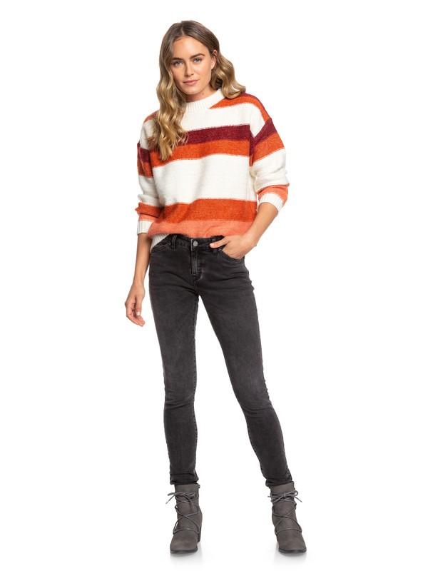 0 Stand By You Skinny Fit Jeans Black ERJDP03219 Roxy