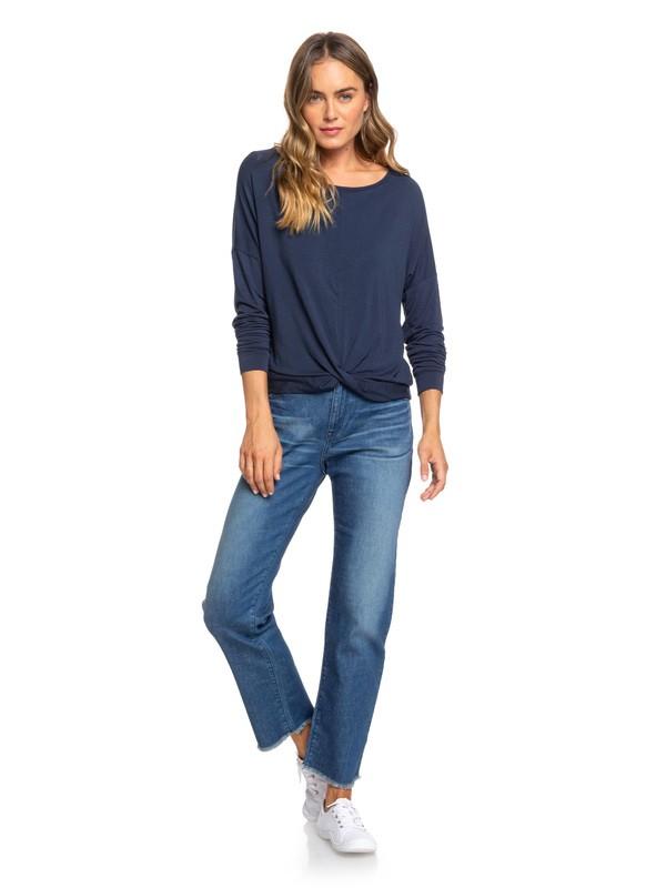 0 Good Story Straight Fit Jeans Blue ERJDP03221 Roxy