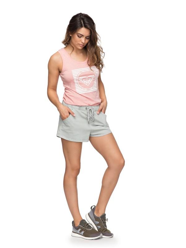 0 Пляжные шорты Music Never Stop Color Серый ERJDS03154 Roxy