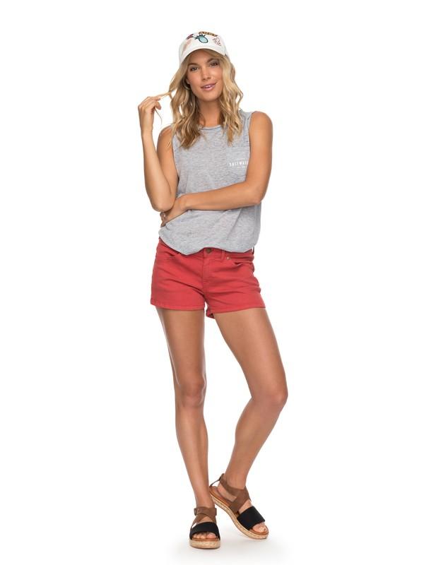 0 Seatripper - Denim Shorts for Women Orange ERJDS03155 Roxy