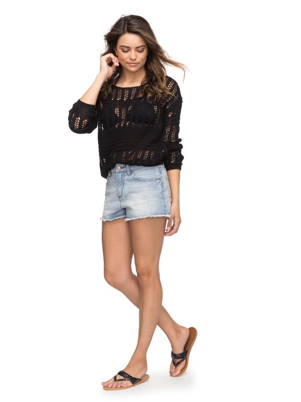 0 Little Abaco Denim Shorts  ERJDS03156 Roxy